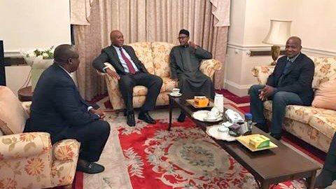 Bukola Saraki: The President We Met Was Witty And Healthy